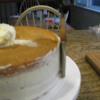 Kathy P Cake: Applying a crumb coat