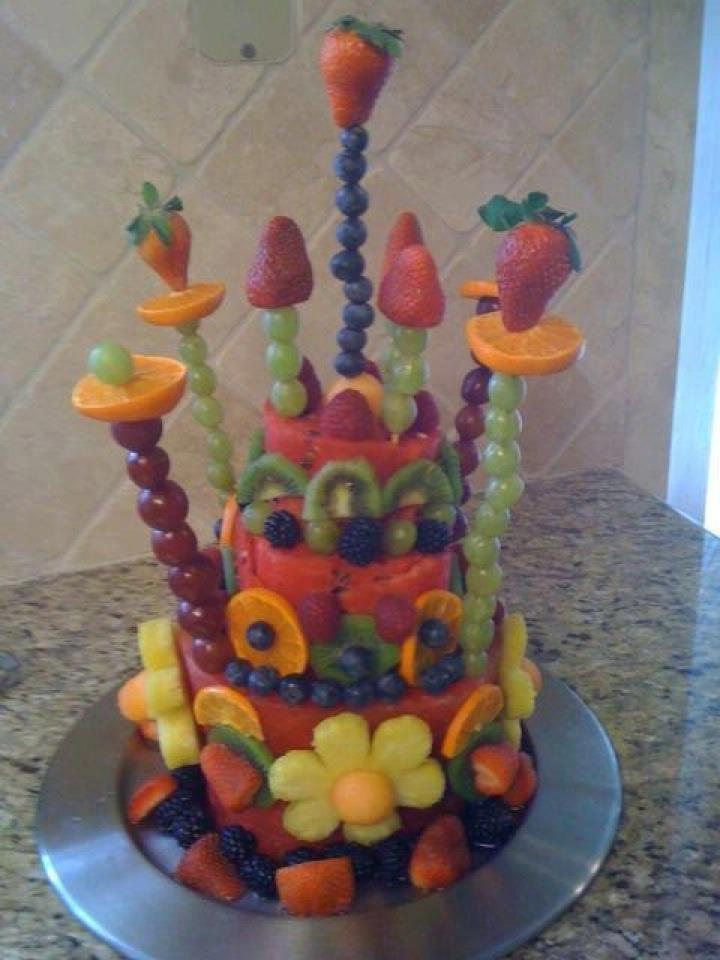 Cake With Fruit Birthday : Birthday Cake Ideas for Kids on Limited Diets Due to ...