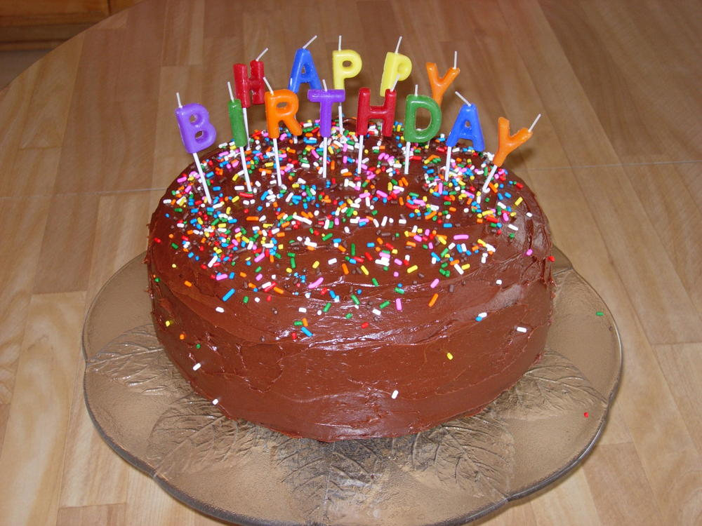 Happy Birthday to You Chocolate Layer Cake AllergyFriendly