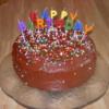 Chocolate Layer Cake: by Linda Coss
