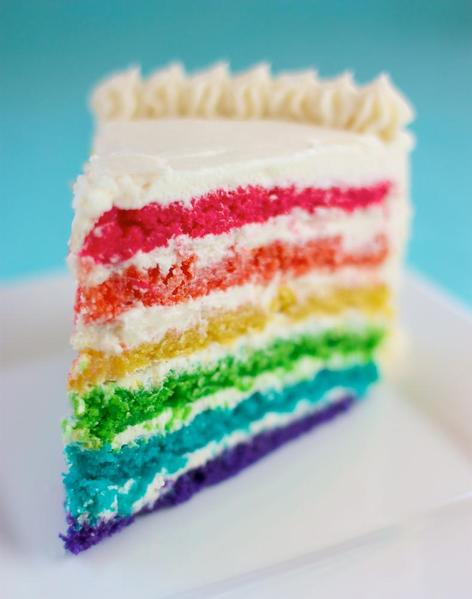 Dairy Free Egg Free Rainbow Cake Surprise Kids With Food Allergies