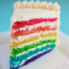 Dairy-Free, Egg-Free Rainbow Cake Surprise