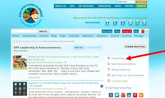 Kids with food allergies blog named one of best allergy blogs for like this blog forumfinder Images