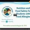 Nutrition, Food Safety at School