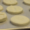 Gluten-Free Biscuit Dough on Tray