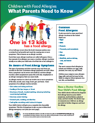 Children With Food Allergies What Parents Need To Know