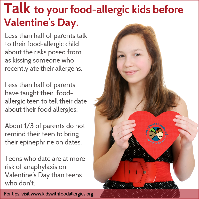 Dating someone with food allergies