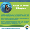 2014 Faces of Food Allergies Awareness Campaign