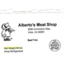 Milk Allergy Alert - Chaparros Mexican Foods Alberto's Meat Shop multiple beef products