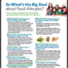 What's the Big Deal about Food Allergies? (Free Community Handout)
