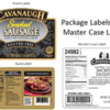 Soy Allergy Alert: Cavanaugh Smoke Sausage
