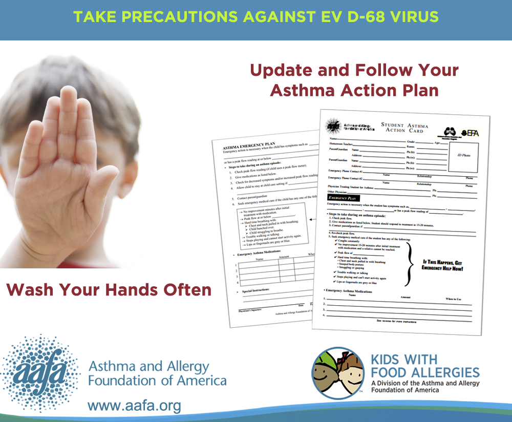 Enterovirus D-68: Take Precautions for Kids with Asthma ...