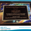 Founder of KFA Honored as Pioneer for Food Allergies