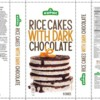 Milk Allergy Alert: J&B European Distribution Kupiec Rice Cakes with Dark Chocolate