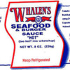 Fish (Anchovies) Allergy Alert: Whalen's Horseradish Products, Inc Seafood & Burger Sauce