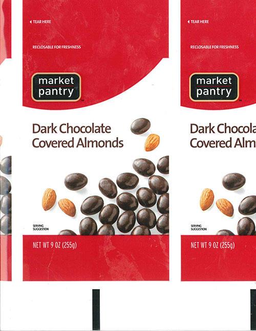 Target Dark Chocolate Covered Almonds