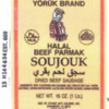 Peanut Allergy Alert - Daniel Weaver Company Halal Beef Soujouk