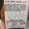 Tree Nut Allergy Alert (Almond) - Whole Foods Market Salted Caramel Crispies