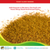 AAFA Responds to FDA Cumin Warning