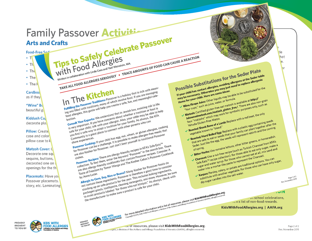 Lyric passover songs lyrics : Tips to Safely Celebrate Passover with Food Allergies   Kids With ...