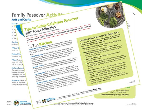Passover Tip Sheet