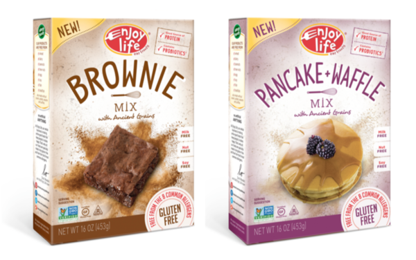 New food find enjoy life allergy friendly baking mixes for Atkins cuisine all purpose baking mix where to buy