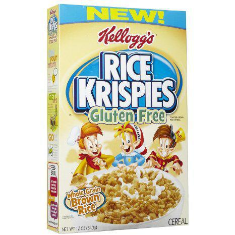 ... Production of Gluten-Free Rice Krispies | Kids With Food Allergies