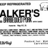 Soy Allergy Alert - Walker's Foods Pit Cooked Barbequed Pork with Sauce