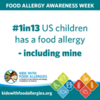 #1in13 US Children Has a Food Allergy - Including Mine