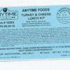 Egg Allergy Alert - Total Packaging of KY, Inc Turkey and Cheese Lunch Kits
