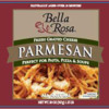 Egg Allergy Alert - Arthur Schuman Bella Rosa Grated Parmesan Cheese