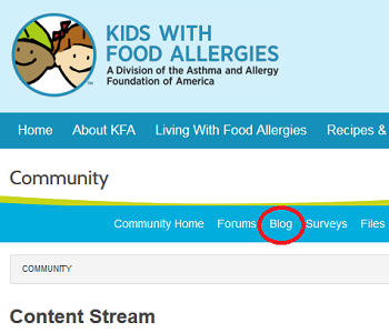 Dont miss out on critical food allergy information kids with food like this blog forumfinder Images