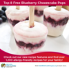 Dairy-Free Cheesecake Pops and Other Allergy-Friendly Recipes