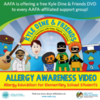AAFA Giving Educational Support Groups Copies of Kyle Dine's New Food Allergy DVD for Schools