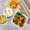 Allergy-friendly school lunch - milk-free rainbow-scoops: Allergy-friendly school lunch - milk-free rainbow-scoops