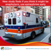 Study Finds If You Suspect Anaphylaxis, Use Epinephrine Early
