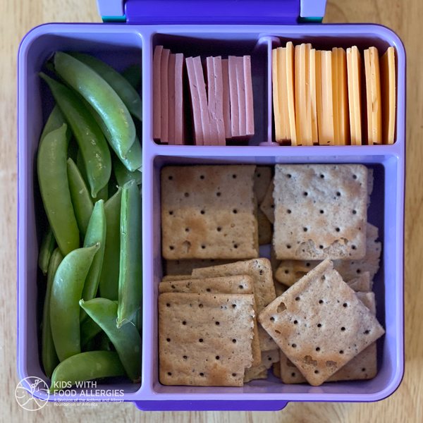 Wheat-free gluten-free lunchable-style lunch box