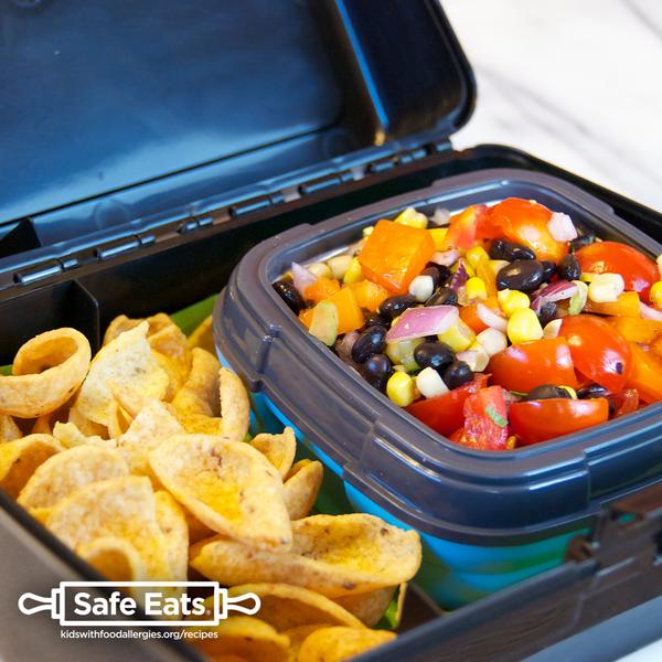 Wheat-free gluten-free rainbow scoop lunch box