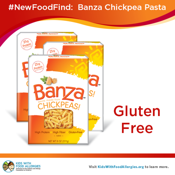 New food find gluten free banza chickpea pasta kids - Blog cuisine ss gluten ...
