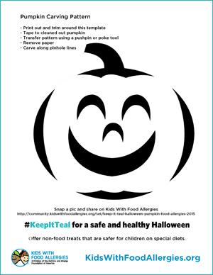 pumpkin carving patterns to keepitteal kids with food allergies