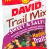 Milk Allergy Alert - David Trail Mix Sweet and Salty Flavor