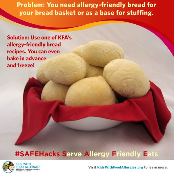 How do you make allergy friendly bread for your holiday dinner cooking recipe hacks dinner rolls forumfinder Image collections