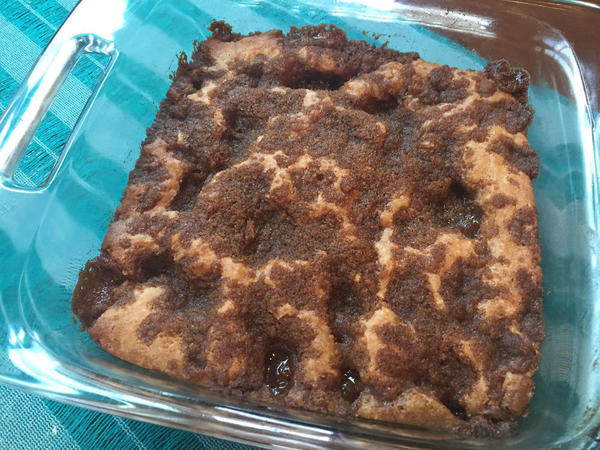 Streusel Layered Coffeecake