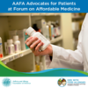 AAFA Attending Federal Summit on Improving Health and Access to Medication