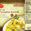 Tree Nut (Cashew/Almond) Allergy Alert - Raley's Frozen Sweet Pumpkin Ravioli