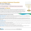 Tips to Safely Celebrate Chanukah with Food Allergies (New Handout)