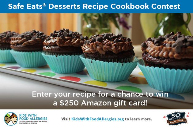 Safe eats desserts recipe cookbook contest kids with food allergies forumfinder Images