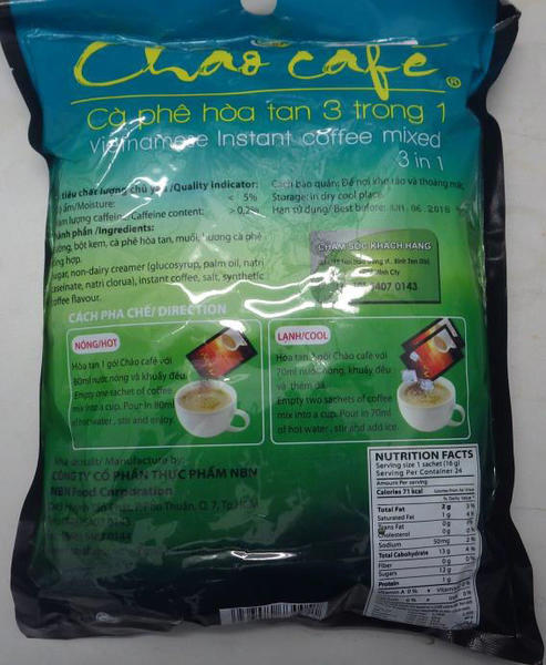 CHAO-CAFÉ-VIETNAMESE-INSTANT-COFFEE-MIXED-3 -IN-1