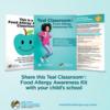 Teal classrooms raise food allergy awareness: Teal classrooms raise food allergy awareness