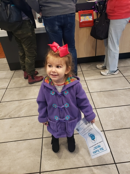Aria shares a letter about food allergy awareness with local businesses to ask them to donate allergy-friendly toys and treats to the local Halloween festival.